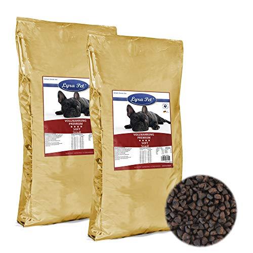 Lyra Pet Dog 2X 12,5 kg Soft Hundefutter mit Strauß aus Africa Macht Hunde Happy