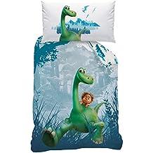 Disney The Good Dinosaur 043555Prehistoric Print de cama, algodón renforce, 160x 210+ 65x 100cm