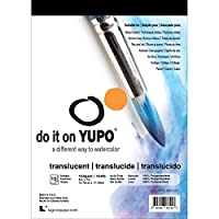"Yupo Paper L21-YUP153CL57 Translucent Sheets (15 Pack), 5"" x 7"""