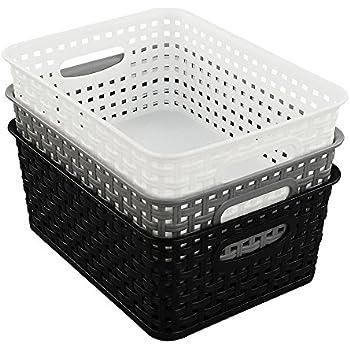 Körbe Minikorb Ablagekorb Regalkorb Kunststoff Korb: Amazon.de: Küche & Haushalt