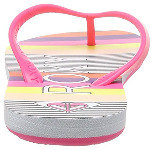 Roxy Rg Tahiti V G, Sandales fille Multicolore (Pinstripe)