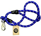 #2: The Pets Company Dog Nylon Rope Leash Premium Quality, Suitable for Large and Giant Dogs, Blue