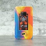 CEOKS Smok Morph 129W Custodia Silicone Cover Case Protegge Il Gel Custodia Protettiva in Silicone per Smok Morph 129W Vape Pod Kit TC MOD Box Antiscivolo Non-Slip (Arcobaleno)
