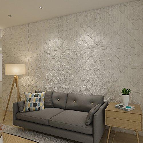 Zegeey 3D Brick Wall Sticker Selbstklebende Schaum Tapete Panels Zimmer Abziehbild - 3d-stricken
