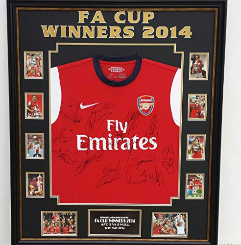 e4142d53c Very Rare FA Cup Winners Signed Shirt  AFTAL DEALER Approved ...