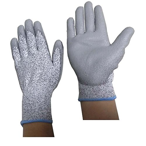 generic-metal-detector-digging-gloves-hand-protective-garden-camping-hiking-glove-pe-with-pu-coating
