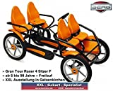 BERG Toys Gran Tour Racer F 4 Sitzer Freilauf Gokart