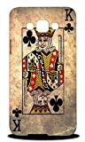 Foxercases Design King Of Clubs Playing Deck Cards Hard Back Case Cover for Samsung Galaxy E7