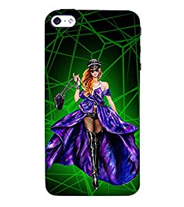 Heroine Cinima Movie 3D Hard Polycarbonate Designer Back Case Cover for Apple iPhone 5