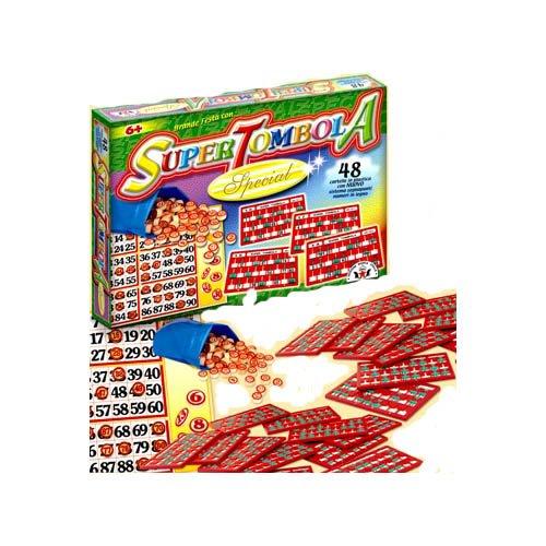 Viscio Trading Super Tombola Special 48 Cartelle, 88438