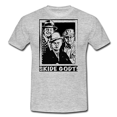 """T-Shirt """"Die Olsenbande - Skide Godt!"""" ashgrey"""