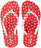 United Colors of Benetton Girl's Red Flip-Flops-12 UK/India (31 EU) (18A8CFFPG506I)