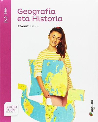 GEOGRAFIA ETA HISTORIA EZAGUTU SAILA 2 DBH EGITEN JAKIN - 9788414103401
