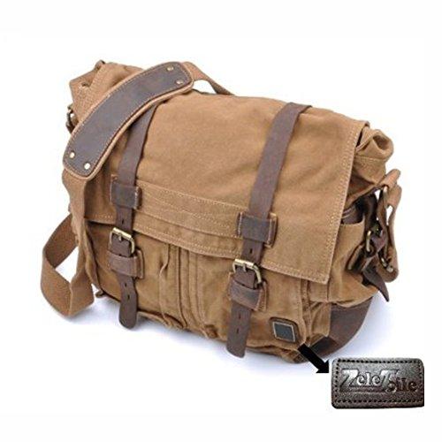 QUADRA - sac de voyage en toile - vintage - 45 Litres - QD613 mixte homme - femme (Beige) Gs9YfFY