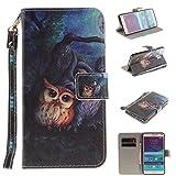 Nancen Samsung Galaxy Note 4 / SM-N9100 (5,7 Zoll) Handytasche/Handyhülle. Flip Etui Wallet Case in Bookstyle - Premium PU Lederhülle Hülle Cover Mit Lanyard/Strap, Standfunktion