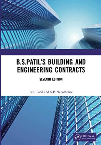 B.S.Patil's Building and Engineering Contracts, 7th Edition