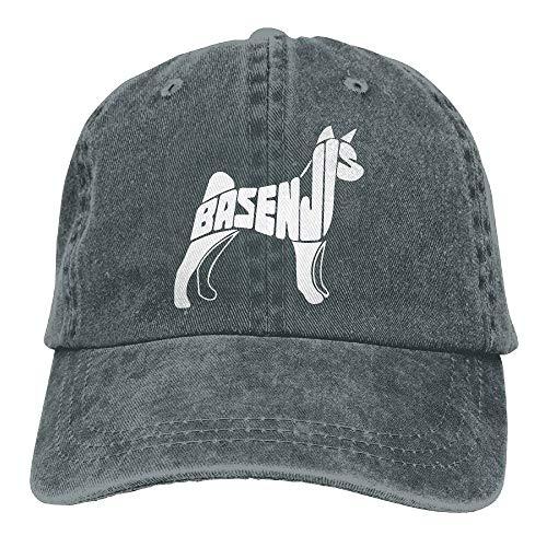 Gorgeous ornaments 2018 Adult Fashion Cotton Denim Baseball Cap Basenji Dog Art-1 Classic Dad Hat Adjustable Plain Cap