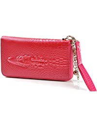 Brilliance Co mode Porte-monnaie Femme Portefeuille Motif Crocodile