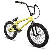 20 Zoll BMX Collective C1 Pro Park Freestyle Bike Fahrrad 16/9 Park Bike schwarz, raw, rot oder Galaxy (gelb)