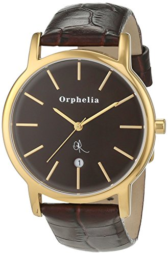 Orphelia OR22670133 - Reloj de pulsera hombre, piel, color marrón