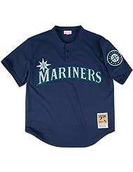 Randy Johnson Seattle Mariners Mitchell & Ness MLB Authentic 1995 BP Jersey Maillot