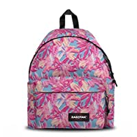 Eastpak Padded Pak'r Backpack - 24 L, Pink Jungle (Multicolour)