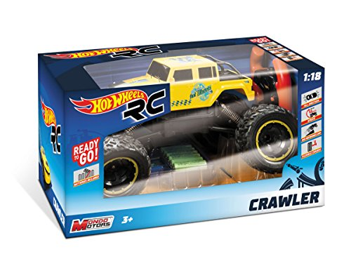Coche Radio Control Hot Wheels Crawler