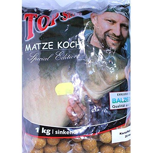 Preisvergleich Produktbild Balzer - Matze Koch Special Edition Boilies - Kartoffel / Mais,  gelb-braun 20mm 1kg