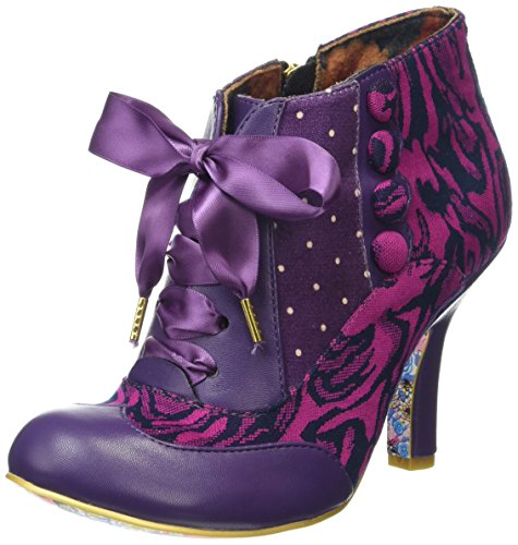 Irregular ChoiceBlair Elfglow - Stivaletti donna, colore multicolore (pink/purple), taglia 37 EU (4 UK)