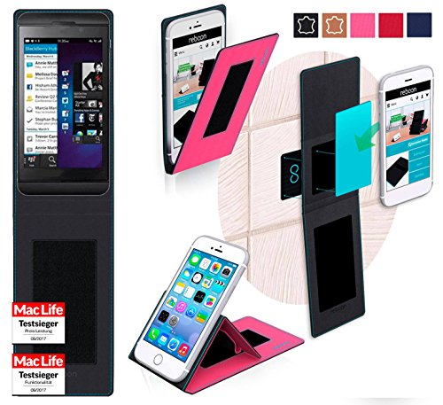 lackBerry Z10 Tasche Cover Case Bumper | Pink | Testsieger ()