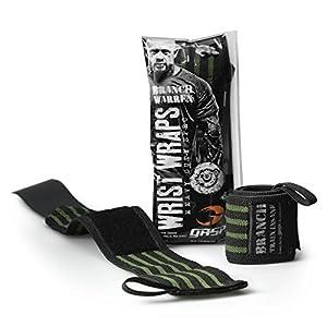 GASP Branch Wrist Wraps 18 inch – Handgelenkgurte – Handgelenk-Bandagen für Kraft- und Fitness-Training