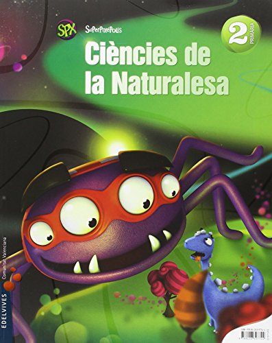 Ciencies de la Naturalesa 2º Primaria (Valenciano) (Superpixépolis) - 9788426397744