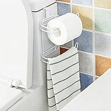 Portarrollos de Papel Higiénico Handy Toallero sin golpe de baño para la cocina del baño