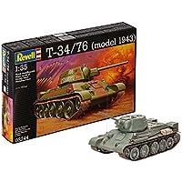 Revell 03244 - Kit Modelo - T-34/76 en la Escala de uno y Treinta y Cinco