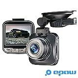 EPOW G50 Dashcam Camera embarquée voiture [MARQUE FRANÇAISE - GARANTIE 1AN] Mini boitier DVR avant boite noire - Novatek - FULL HD 1080p - grand angle
