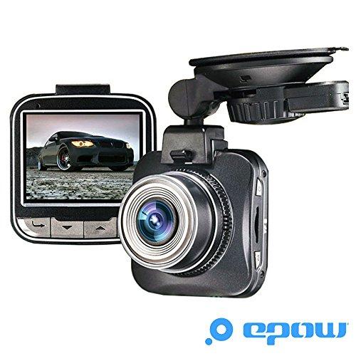 EPOW® G50 Dashcam Camera embarquée voiture [MARQUE FRANÇAISE - GARANTIE 1AN] Mini boitier DVR avant boite noire - Novatek - FULL HD 1080p - grand angle