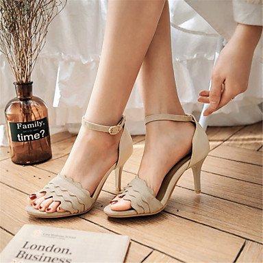 LvYuan Sandalen-Hochzeit Büro Kleid Party & Festivität-maßgeschneiderte Werkstoffe Kunstleder-Stöckelabsatz-Komfort Neuheit Club-Schuhe-Schwarz Pink