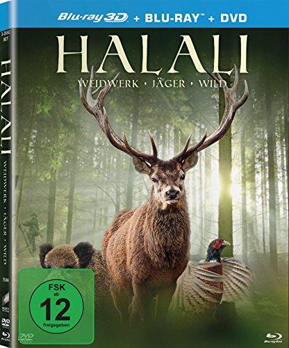 Halali (Blu-ray 3D + Blu-ray + DVD)
