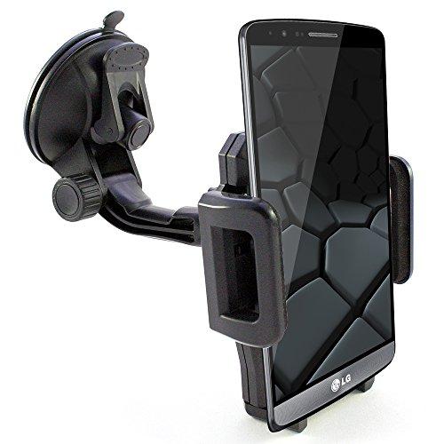 KFZ Halterung für LG G5 / G5 SE / x-screen / x-cam / x-mach / x-power / Nexus 4 5 5X / K4 LTE / K3 LTE / K10 / K8 / K7 / V10 / Stylus 2 / Class / Bello 2 / G4 / G4 s / G4 c / G Flex 2 / Magna / Spirit LTE / Spirit / Leon LTE / Leon / Joy / G3 / Smartphone Auto Halter