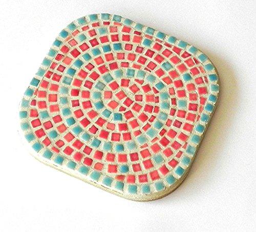 Mosaic Kit, Untersätze 2Untersätze, Salmon Orange