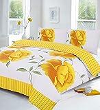 Best Ropa de cama Ropa de cama Unidas - Lujo almohada) amarillo edredón conjunto–Incluye Edredón/funda de edredón Review