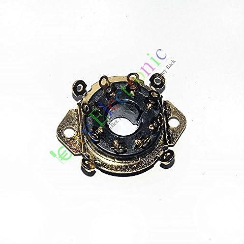 CARY 4or 8broches bakélite Châssis Tube Prise manuelle Valve Aspirateur EL34KT8865506sn7