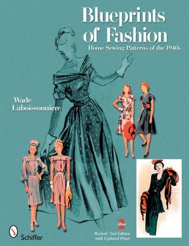 Google Books: Blueprints of Fashion: Home Sewing Patterns of the 1940s Paperback December 1, 2008 PDF