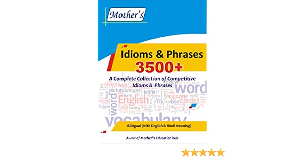 Buy Idioms & Phrases Book Online at Low Prices in India   Idioms