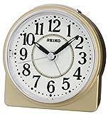 Seiko Unisex Wecker Analog Gold QHE137G