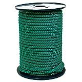 FTM® Springseil Tau Seil PP Grün Dunkelgrün Meterware Rollenware Ø 9mm Fitnessseil 30 Meter