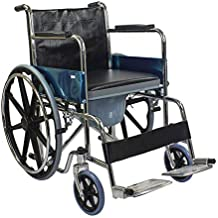 Kosmocare Pride Chrome Plated Commode Wheelchair