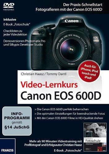 Preisvergleich Produktbild Canon EOS 600D - Videolernkurs
