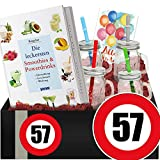 Zahl - 57 | Geschenkidee Powerdrinks | Geburtstags Geschenke 57 jahre