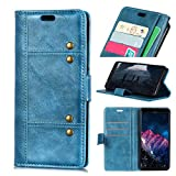 LMFULM® Case for Wiko View 2 Plus (5.93 Inch) PU Leather